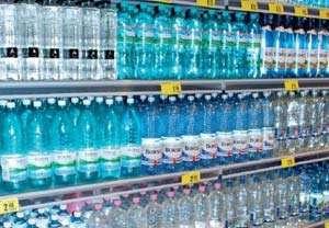 ANPC a oprit de la comercializare peste 100.000 litri de apă minerală