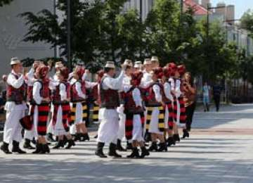 Ansamblul folcloric Transilvania din Baia Mare, printre câștigătorii unui festival-concurs organizat în Lituania