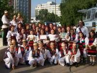Ansamblul Mugurelul de la Clubul Copiilor Sighetu Marmației reprezintă România la un festival internațional de folclor din Serbia