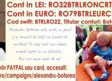 APEL UMANITAR - Un copil are nevoie de ajutorul tău pentru o operație de 70.000 euro