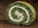 APERITIV: Ruladă de spanac cu brânză