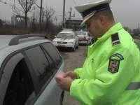 Aproape 100 de sancţiuni rutiere aplicate ieri de poliţiştii maramureșeni
