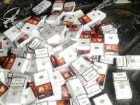Aproape 250.000 de ţigarete de contrabandă confiscate la Petrova