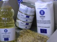 Aproximativ 20.000 pachete cu alimente au rămas neridicate în Maramureş