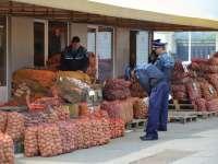 Aproximativ 800 kg de legume și fructe confiscate de poliţiştii de investigare a criminalităţii economice