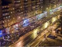 Aproximativ 8.000 de maramureșeni au protestat în stradă în seara zilei de duminică
