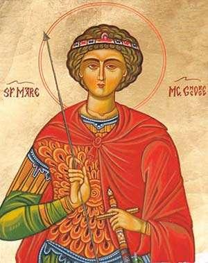 Aproximativ 900.000 de români poartă numele Sfântului Mare Mucenic Gheorghe