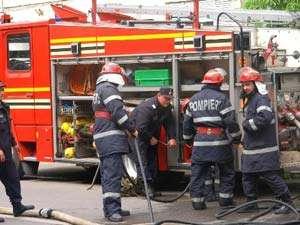 Şapte intervenţii pentru pompierii maramureşeni la sfârşitul săptămânii trecute