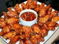 Aripioare picante (chicken wings)