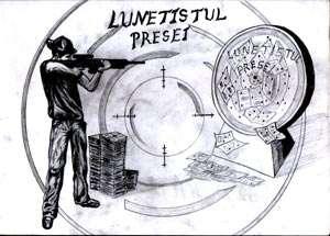 """Astăzi, 04 aprilie 2014, o nouă ediție a emisiunii """"Lunetistul presei"""" la Radio Galaxia și 4U FM"""