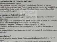 Atacul WannaCry a fost revendicat - Cum arată mesajul trimis de hackeri în română