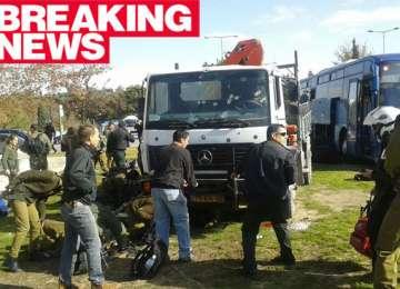 Atentat la Ierusalim: Un camion a intrat într-un grup de pietoni; cel puțin 3 morți