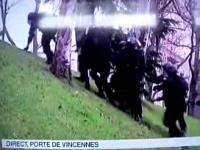 ATENTATE FRANŢA: VIDEO - Imaginile care fac de râs Poliția franceză