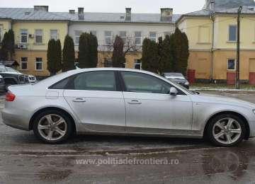 Audi A4 căutat în Anglia, descoperit de poliţiştii de frontieră în Sighetu Marmației
