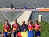 Aur la Campionatele de la Rotterdam și un RECORD MONDIAL pentru juniorii din echipajul de 4 rame