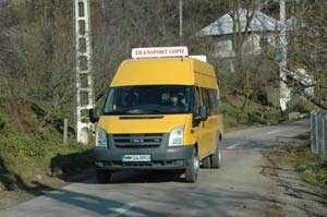 Autovehiculele destinate transportului şcolar, verificate de poliţişti