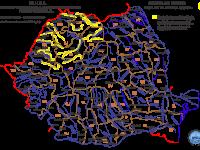AVERTIZARE – Cod galben de inundații pe râurile din nouă județe, inclusiv în Maramureș