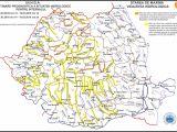 AVERTIZARE HIDROLOGICĂ - Cod galben şi portocaliu pe mai multe râuri din judeţ