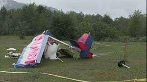 Avion prăbuşit în Maramureş: Pilotul nu a suferit un infarct in timpul zborului