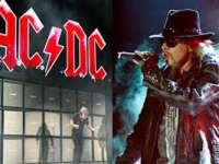 Axl Rose este noul solist al trupei rock AC/DC