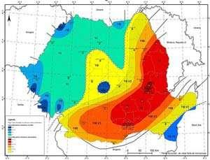 Azi la ora 12:51 a avut loc un cutremur în zona Vrancea