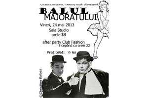 """Azi va avea loc """"Balul Majoratului"""" al elevilor de la Colegiul Național """"Dragoș-Vodă"""""""