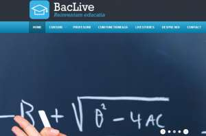 Bacalaureat: A fost lansată prima platformă de pregătire live, la distanță - BacLive