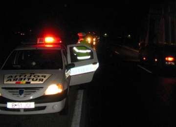 BAIA MARE: A fugit de poliţişti pentru că nu are permis şi se afla sub influenţa băuturilor alcoolice