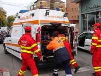 BAIA MARE: Accident soldat cu o persoană rănită