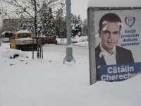 BAIA MARE - Campanie necurată a primarului Cătălin Cherecheș - BEC a dispus înlăturarea panourilor de propagandă electorală cu edilul arestat
