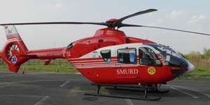 BAIA MARE: Copil cu malformaţie cardiacă transportat de urgenţă cu elicopterul SMURD la Institutul Inimii din Târgu Mureş