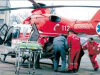 BAIA MARE: Doi bebeluşi născuţi prematur, transportaţi la Cluj cu un elicopter SMURD
