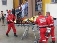 BAIA MARE: Doi copii arşi transportaţi cu avionul la Bucureşti