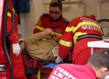 BAIA MARE: Femeie accidentată pe strada Plugarilor