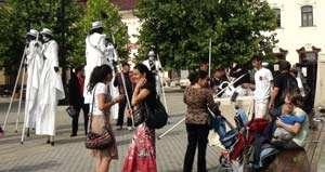 BAIA MARE: Festivalul EXCEPTIO - Teatru de Stradă, Studio și Spații neconvenționale,