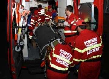 BAIA MARE: O femeie a căzut de pe blocul Cuprom-ului