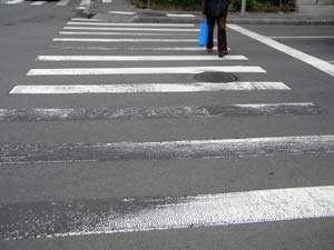 BAIA MARE: Bărbat accidentat pe trecerea pentru pietoni
