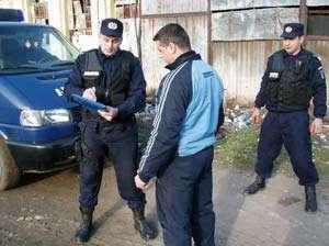 BAIA MARE: Scandalagii potoliţi cu amenzi de jandarmi