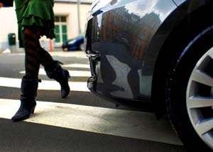 BAIA MARE: Tânără accidentată pe trecerea pentru pietoni