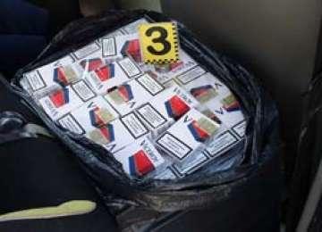 BAIA MARE: Un barbat este cercetat pentru contrabanda dupa ce a fost prins cu 500 de pachete de țigarete asupra sa