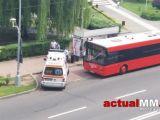 BAIA MARE - Un şofer de autobuz a fost bătut de un grup de romi care circulau fără bilet