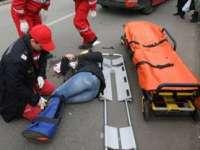 BAIA MARE:Femeie accidentată pe trecerea pentru pietoni