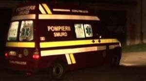 BAIA SPRIE: Un bărbat a ajuns la spital după ce a fost lovit de o maşină