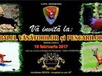 Balul Vânătorilor și Pescarilor Sportivi , ediția XXVI- 18 februarie 2017