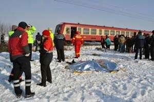 Bărbat accidentat mortal de un tren în Cluj