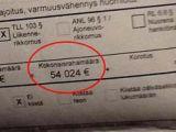Bărbat amendat cu 54.000 euro pentru că a depășit viteza legală cu 23 km / h