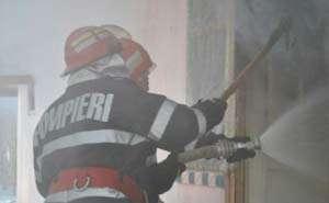 Bărbat bănuit că a incendiat o casă identificat de poliţişti