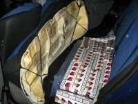 Bărbat din Breb, depistat în timp ce transporta cu un autoturism ţigări de contrabandă