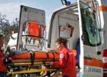 Bărbat în vârstă de 58 de ani accidentat la Vişeu de Sus