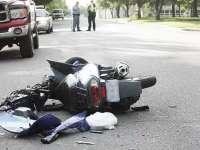 Bărbat rănit în urma unui accident rutier